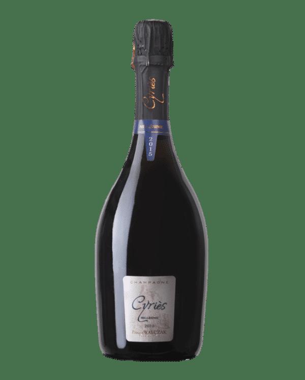 Cuvée champagne Cyriès