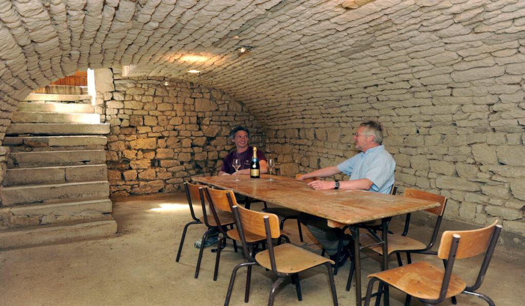 Cave Gîte Les Perrières Champagne WALCZAK