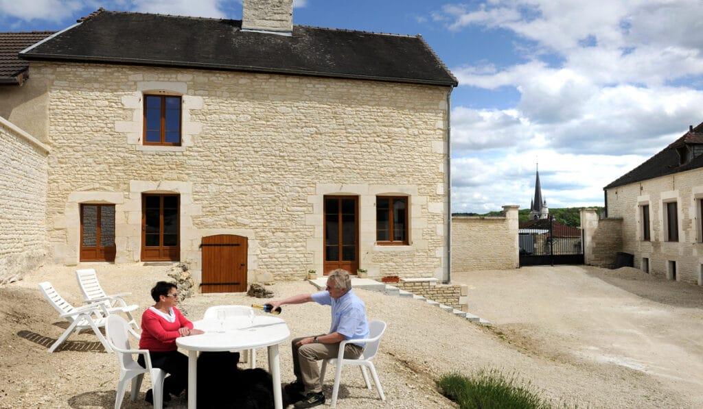Gîte Les Perrières Champagne Walczak