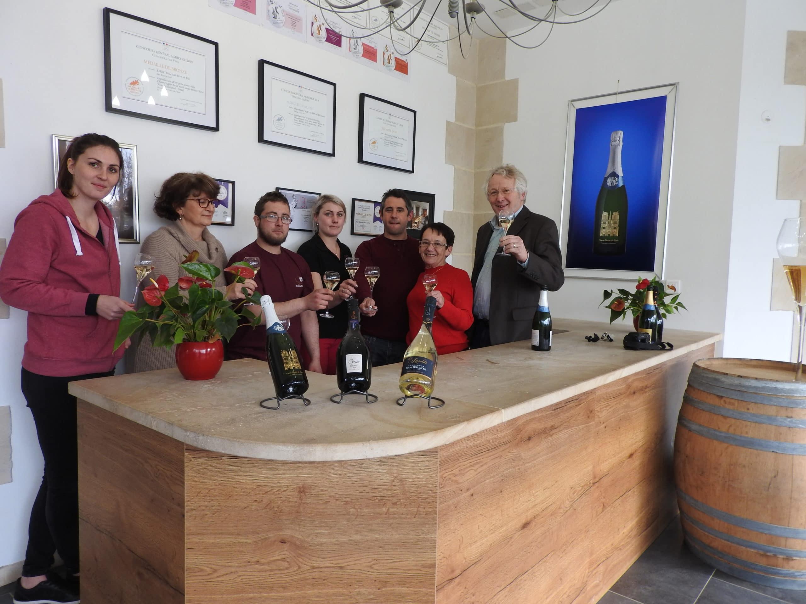 Champagne P. Walczak Team