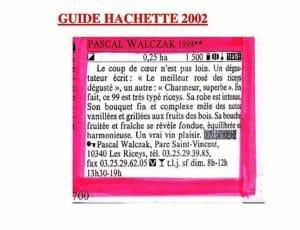 guide hachette 2002