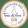 Medaille Or Terre De Vins