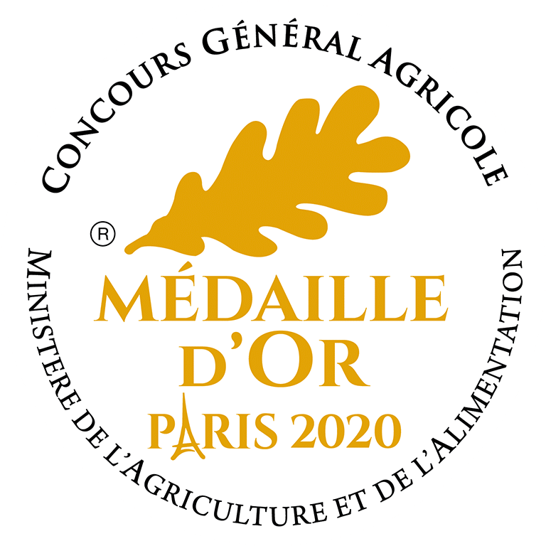 Medaille Or 2020