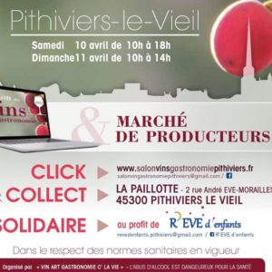 Salon des vins Pithiviers le vieil 2021