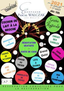 Portes ouvertes Pascal Walczak champagne