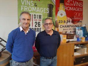 Salon vins et fromages champagnole 2021
